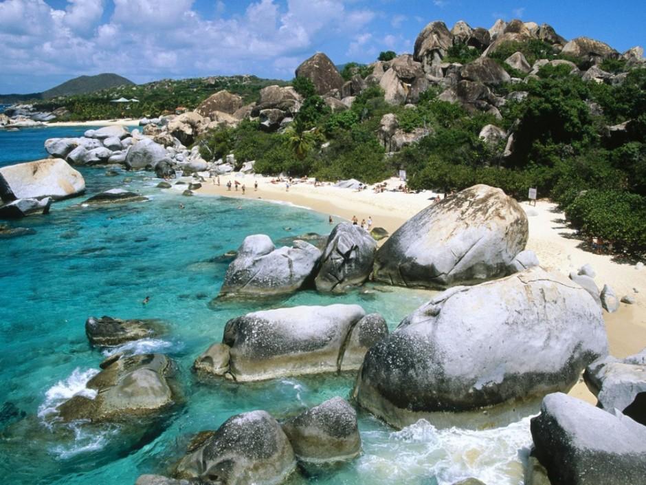 The Baths, Virgin Gorda Island, British Virgin Islands, West Indies  № 1471445 без смс