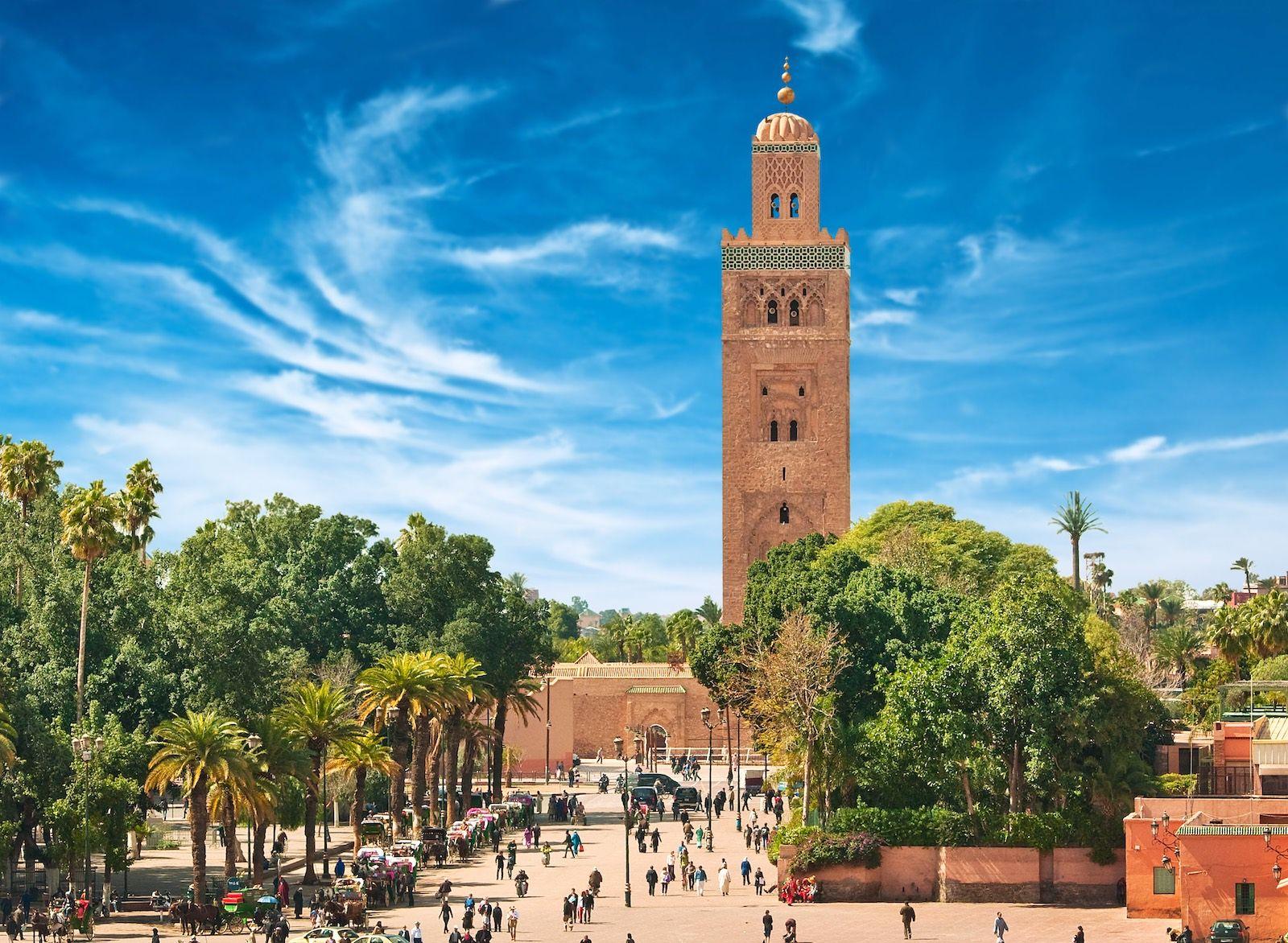 Marrakech Morocco medina cityscape destinations