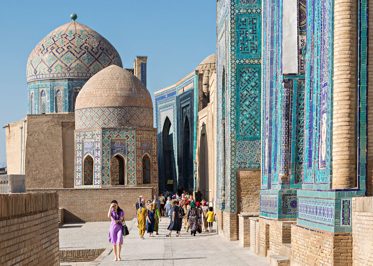 Asia: Uzbekistan Gay Guide and Travel Guides