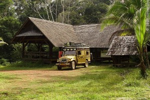 Camping out, French Guiana
