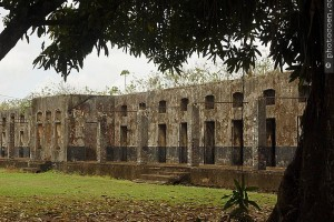 Prison camp, French Guiana