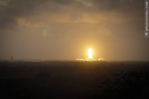 French Guiana space center