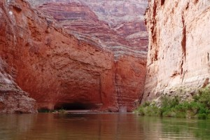 Redwall Cavern. John Wesley Powell thought the cave could hold 50,000 people. Perhaps closer to 1,000.