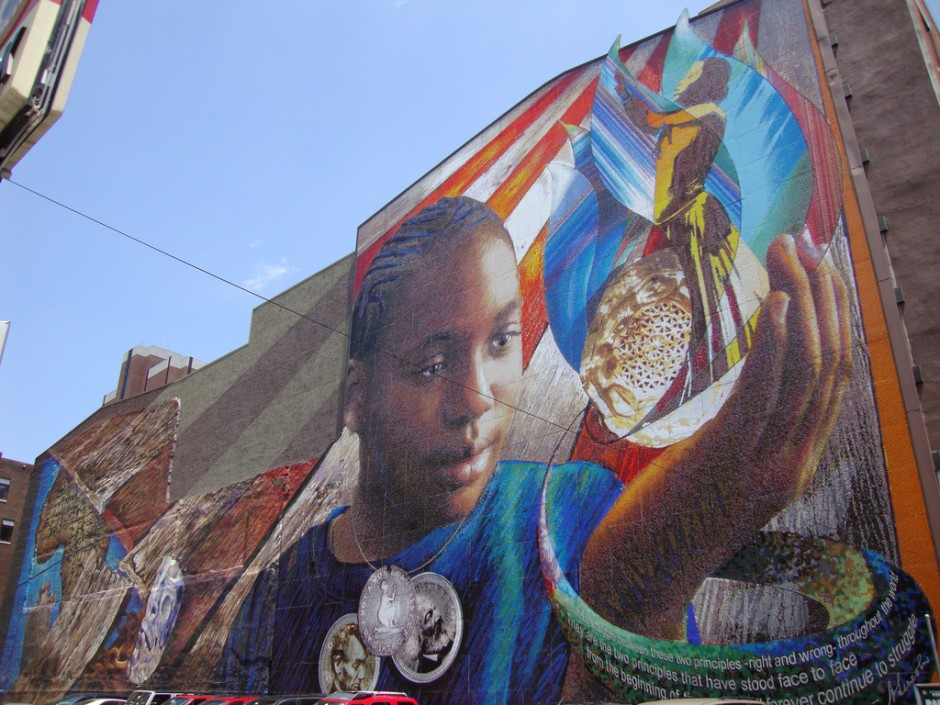 The murals of philadelphia matador network for Common threads mural