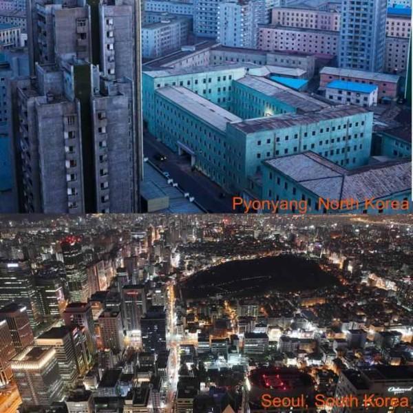 Pyongyang versus Seoul