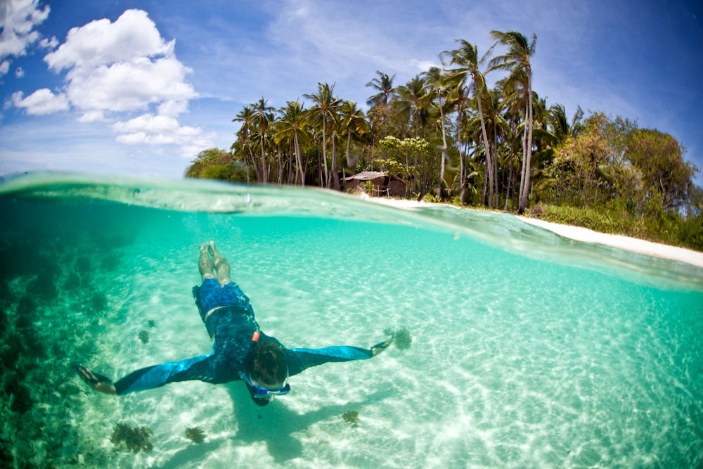 33 places to swim in the world's clearest water