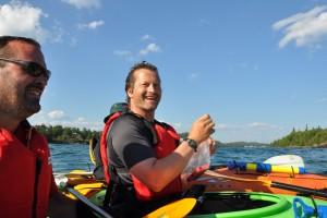 kayak kayaker kayaking lake superior water sports