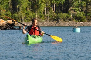 kayak kayaker kayaing Lake Superior water sports