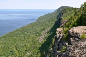 travel northern Ontario and Sleeping Giant Park