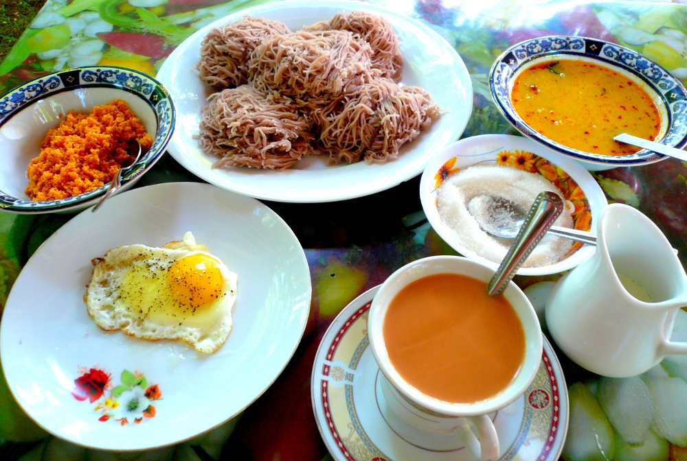 What to order for breakfast in Sri Lanka