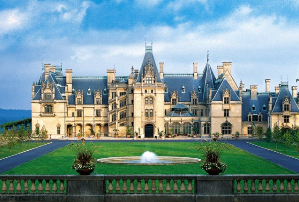 Biltmore mansion -- Asheville, NC