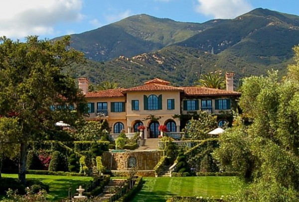 Picacho Lane Mansion -- Montecito, CA