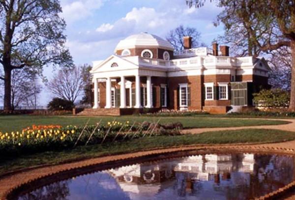 Monticello -- Charlottesville, VA