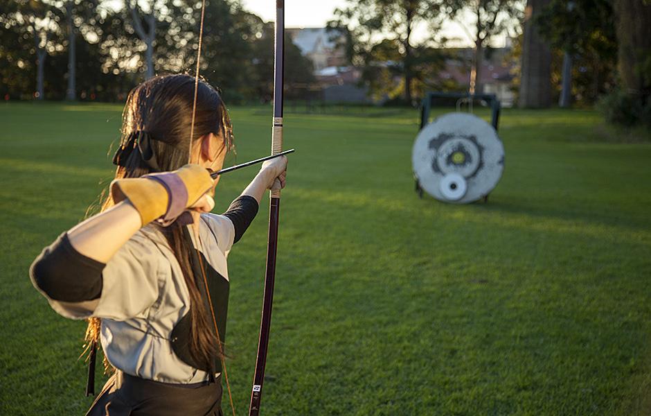 Kyudo: The ancient art of Japanese archery