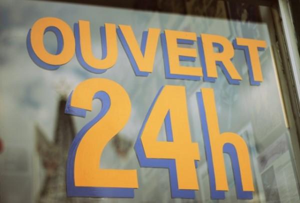 Ouvert 24h