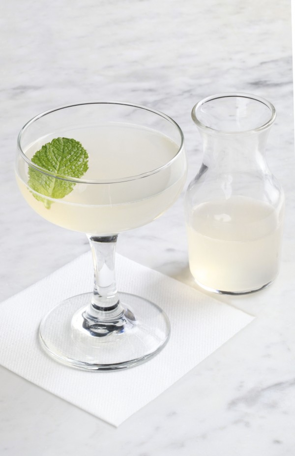 A white cocktail from The Violet Hour