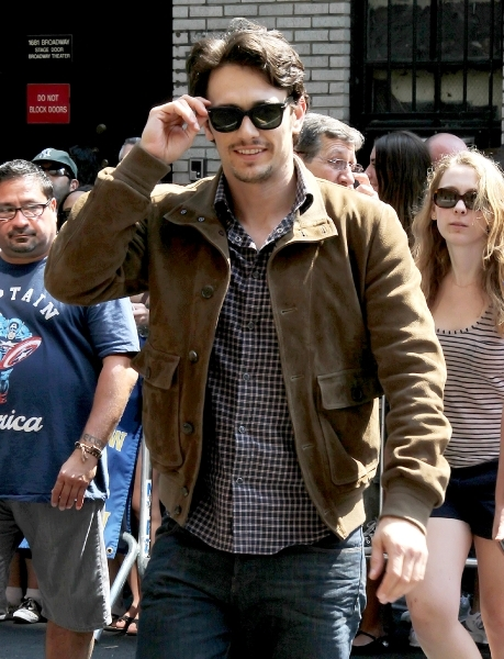 James Franco on the street