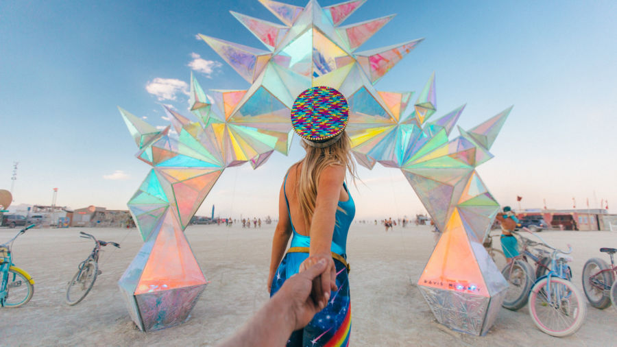 42 of the coolest Burning Man art installations ever
