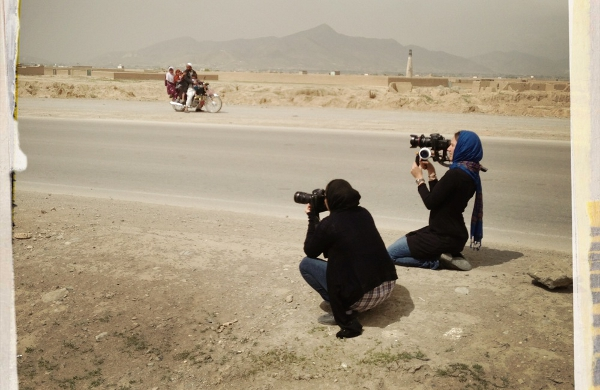 A day with the Afghanistan women's cycling team