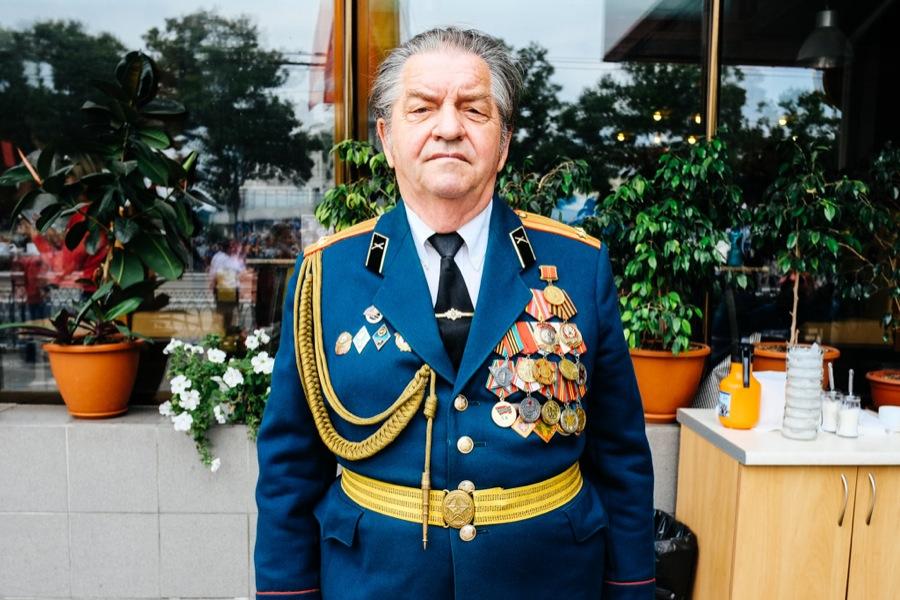 Militia uniform in Tiraspol