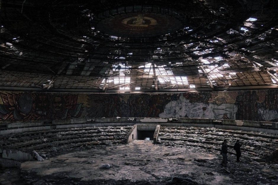 Buzludzha main hall