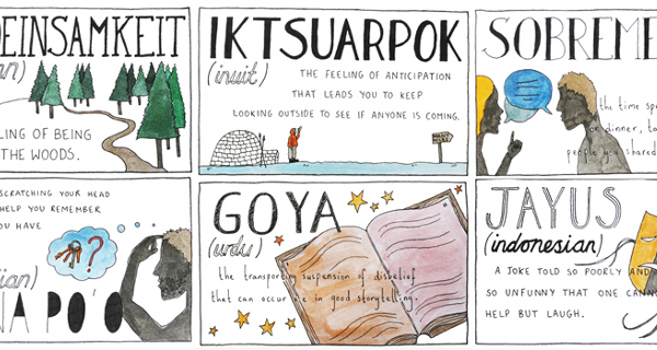 11 beautifully untranslatable words from other cultures