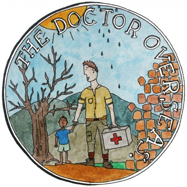 An illustration of doctor abroad