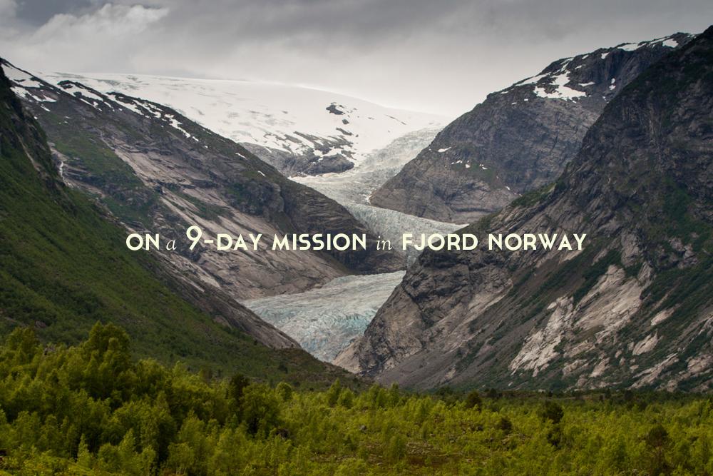 9 days Fjord Norway