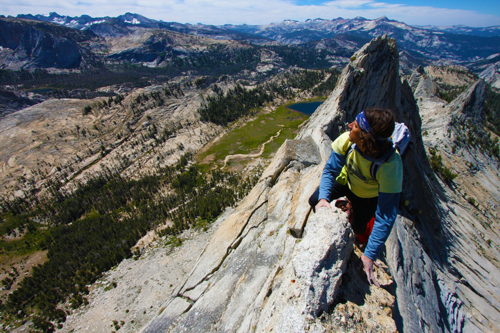 Josh Huckaby in Yosemite