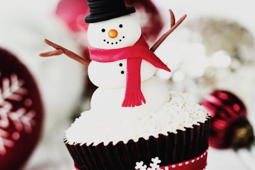 I think it's a cupcake