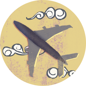 Airliner graphic