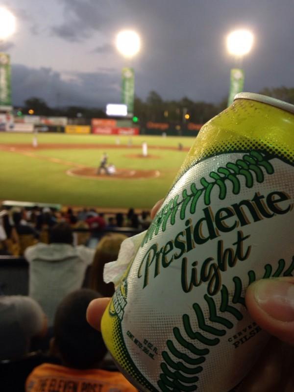 Beer at the baseball game