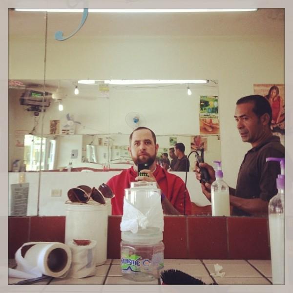 Getting local haircut