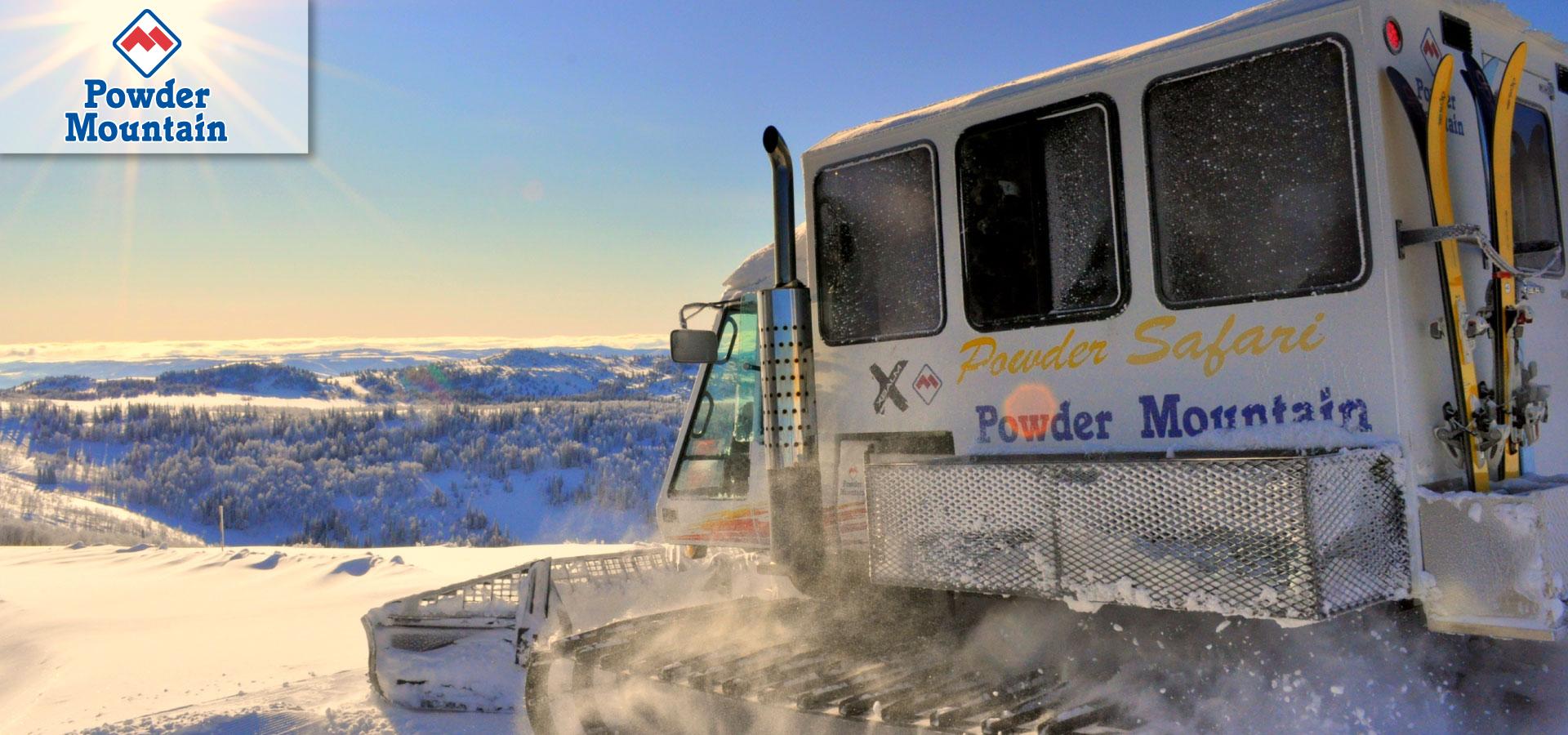 Powder Mountain cat skiing