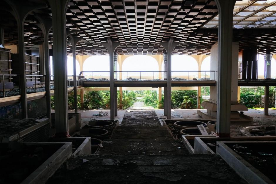 Haludovo Palace Hotel ruin