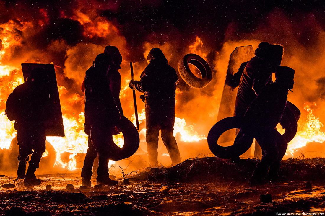 30 apocalyptic images from the protests in Kiev, Ukraine - Matador
