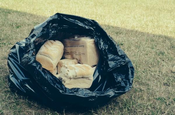 A bag of bread