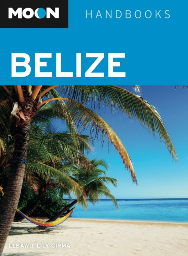 Moon Belize guidebook cover
