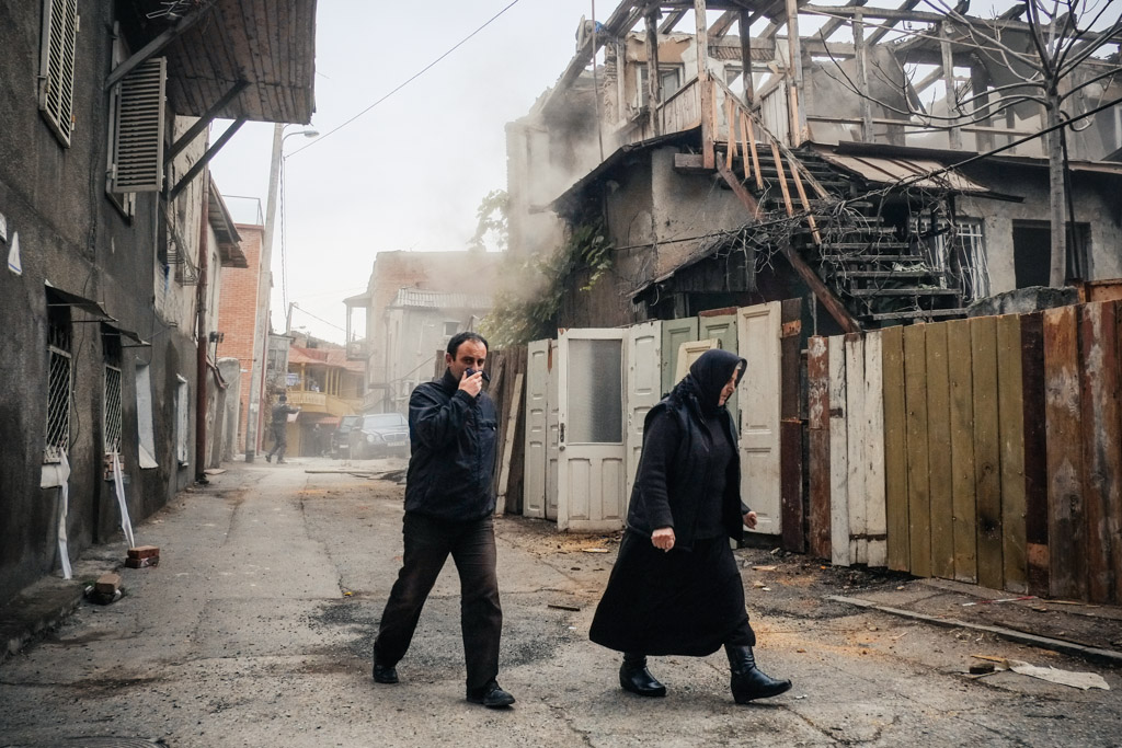 Old Tbilisi, Georgia: Decaying beauty, or birth of a tourist trap?