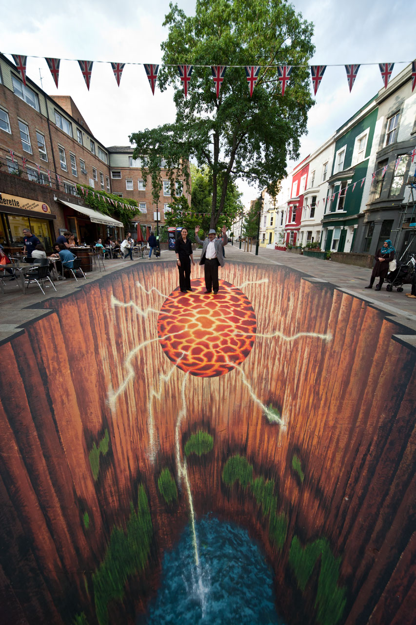 89 Of The World S Most Mind Bending 3d Chalk Drawings