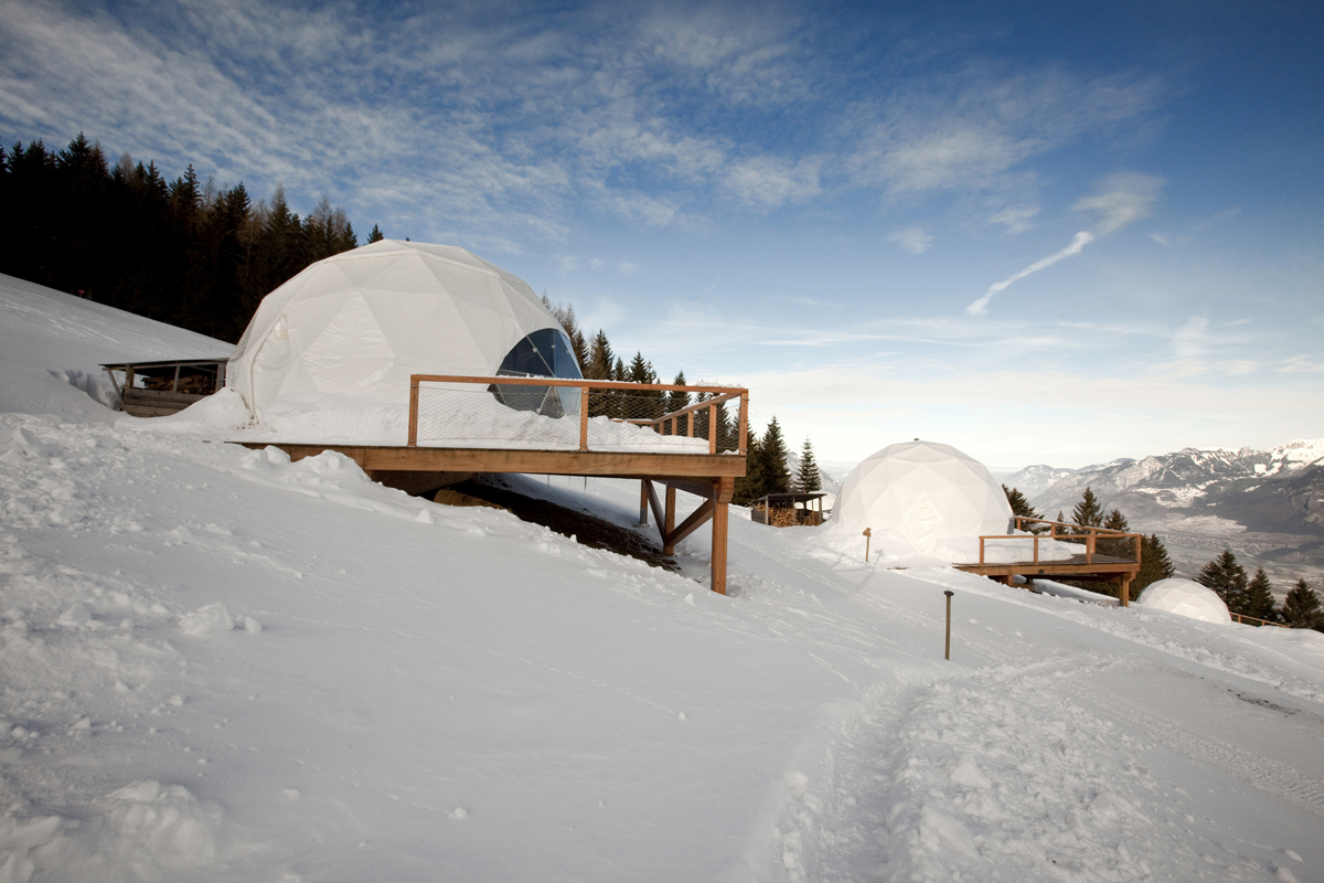 Whitepod Hotel, Switzerland