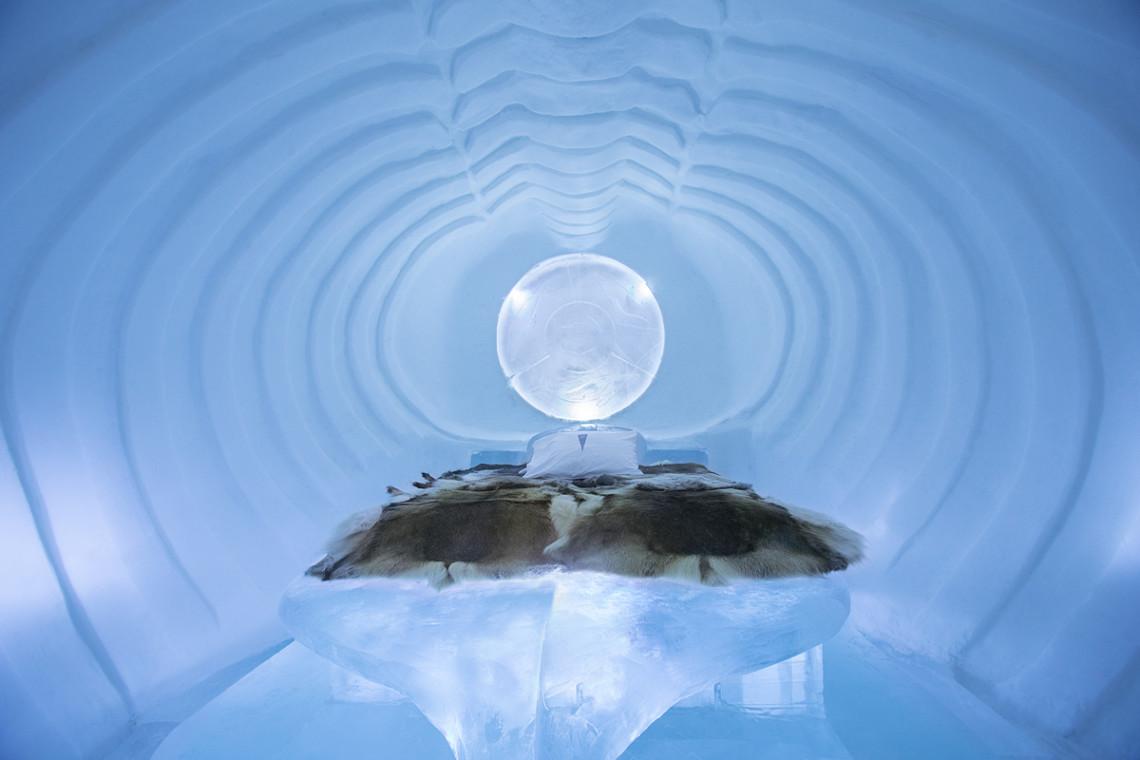 Ice Hotel, Jukkasjarvi, Sweden