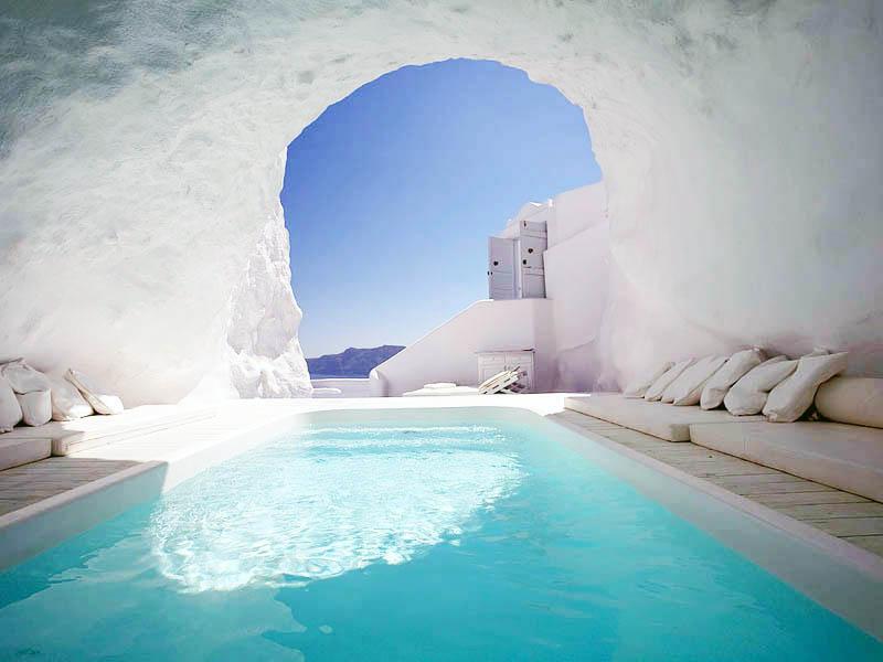 Katikies Hotel-Oia, Greece