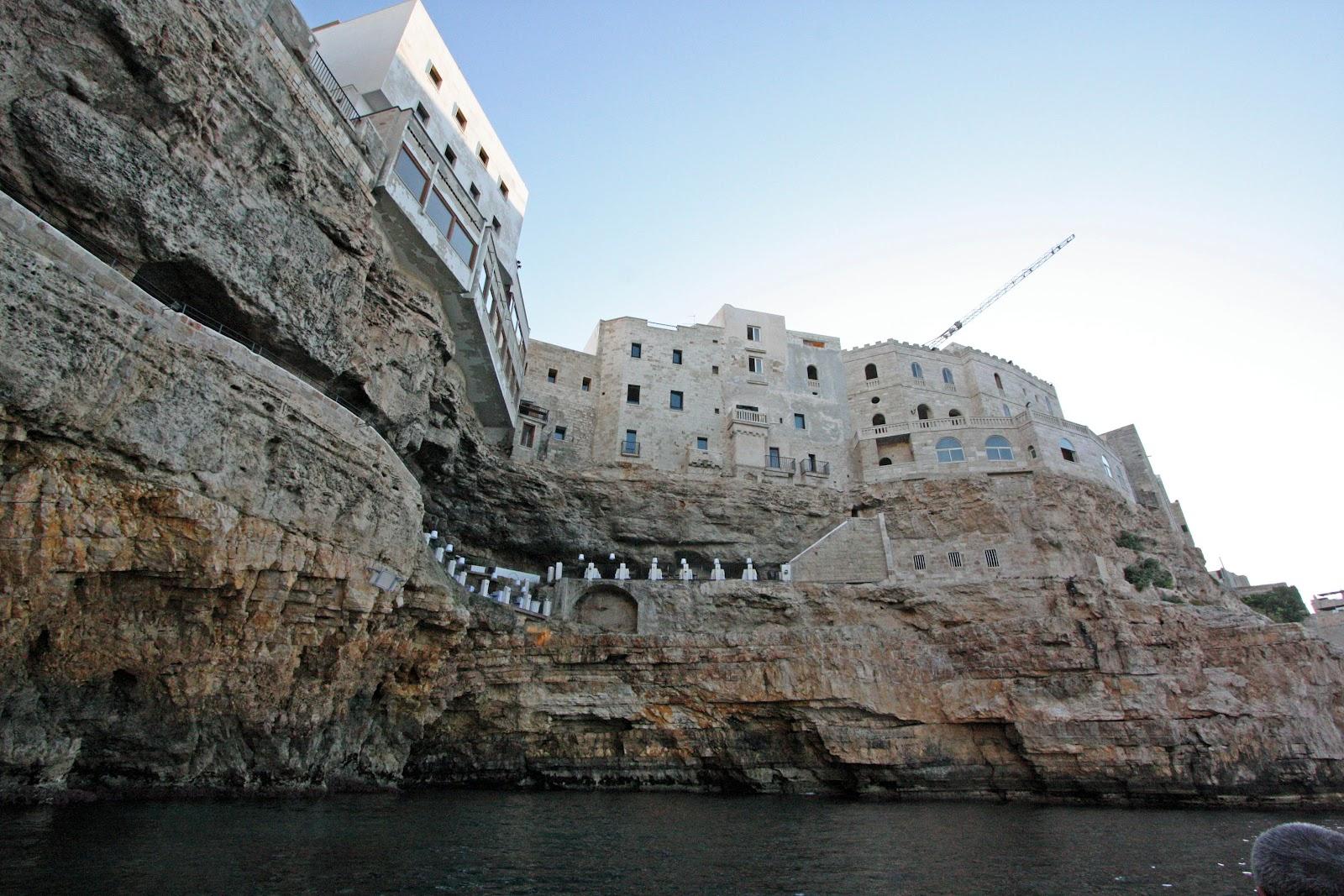 Hotel Ristorante Grotta Palazzese Polignano a Mare, Italy