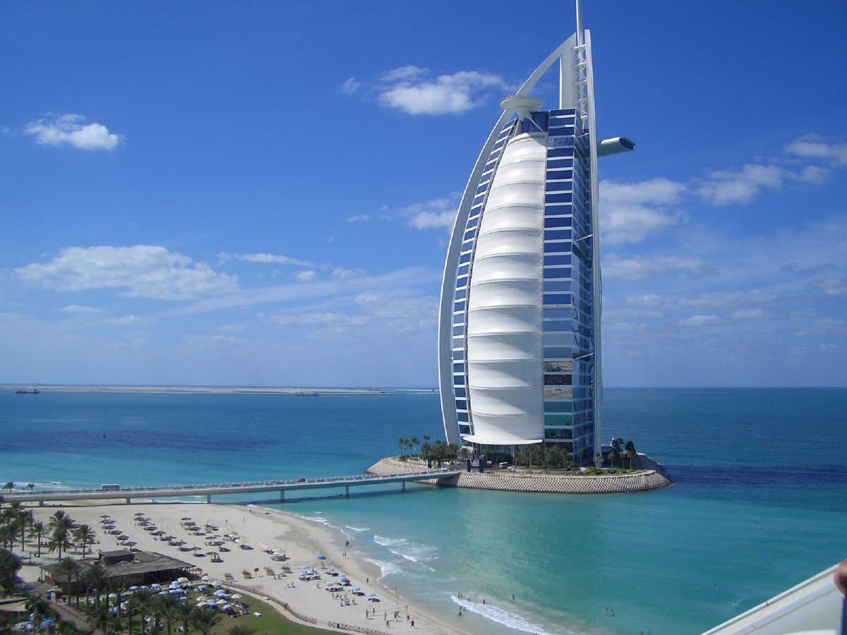 20. Burj Al Arab, Dubai, UAE