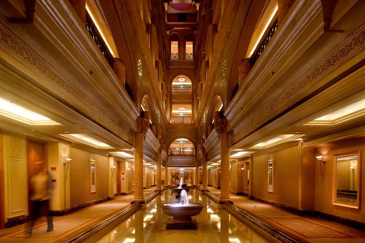 Emirates hallway