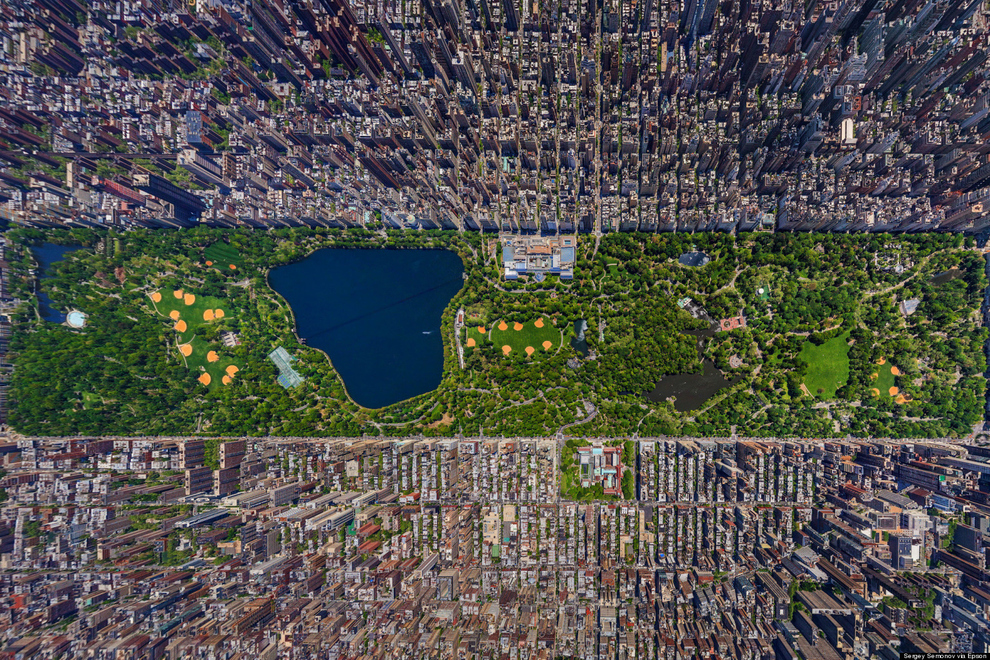 46 incredible aerial shots of famous places