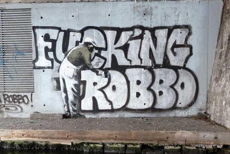 Banksy's revenge. (via)