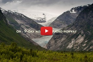 On a 9-day mission in Fjord Norway
