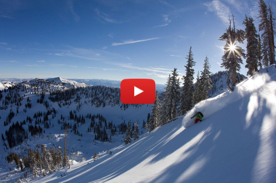 What it looks like to ski the greatest snow on Earth